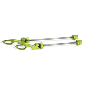 Sixpack Chopstix Schnellspanner Set electric-green